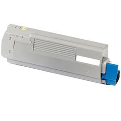 Toner OKI ES2232/2632/5460 EXECUTIVE AMARIILO 6K (COMPATIBLE) - TONERY