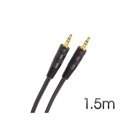 Cable Cromad Stereo Mini Jack 3.5 M/M Audio 1.5M - CR0039